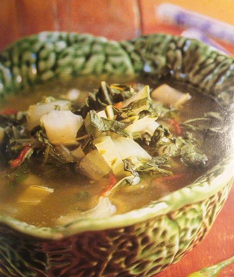 Čínska kapustová polievka