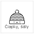 ciapky, saly